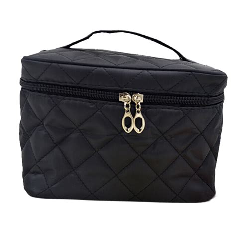 new zipper cosmetic storage make up bag handle