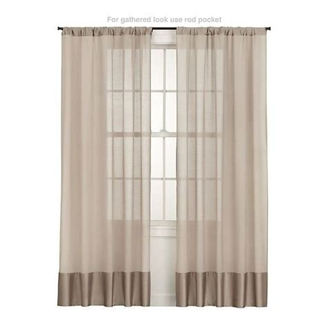 sheer opaque curtains diy idea sheer curtain with opaque fabric at bottom