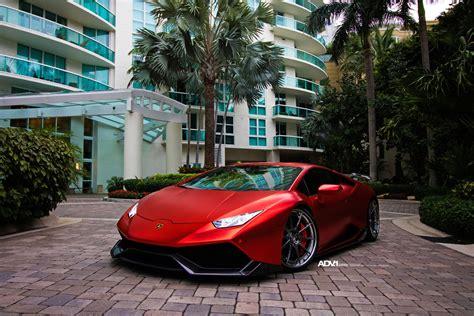 Lamborghini Huracan Red by Matte Red Lamborghini Hurac 225 N With 1016 Industries Kit And