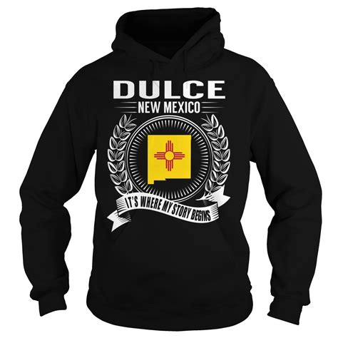 2844 Dulce Black Shirt new mexico it s where my story begins it s where my story begins country state city