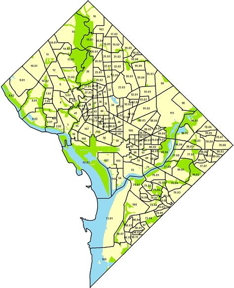 Census Tract Finder By Address Select 2010 Census Tract Profile Neighborhoodinfo Dc