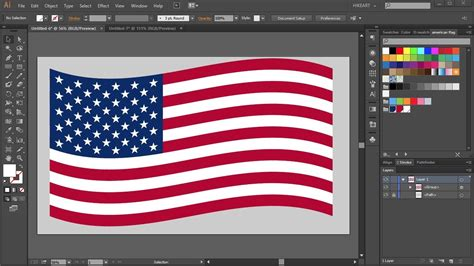 american flag pattern for photoshop how to draw the american flag in adobe illustrator youtube