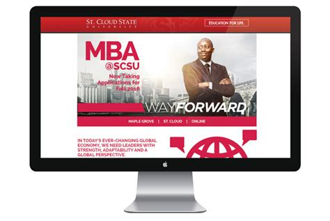 St Cloud State Mba by Gaslight Creative A Friendly Creative Advertising Agency