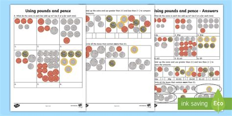 Using Pounds And Pence Worksheet Worksheet Learning