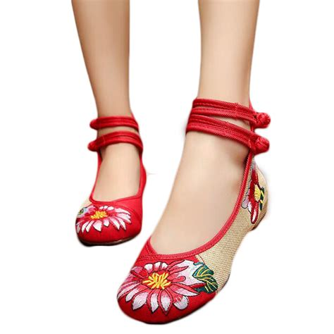 Sepatu Flat Bordir tradisional selimut promotion shop for promotional