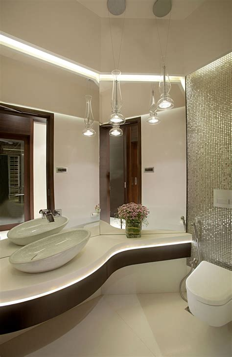 bathroom tiles in mumbai apartment by the beach in mumbai india by zz architects