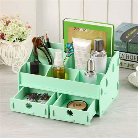 Desk Makeup Organizer desk makeup organizer white makeup desk mugeek