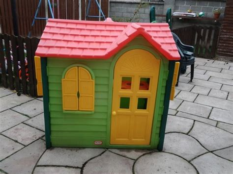 tikes playhouse yellow with roof tikes playhouse for sale in castledermot kildare