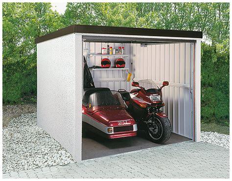 motorad garage motorradgarage mit schwingtor
