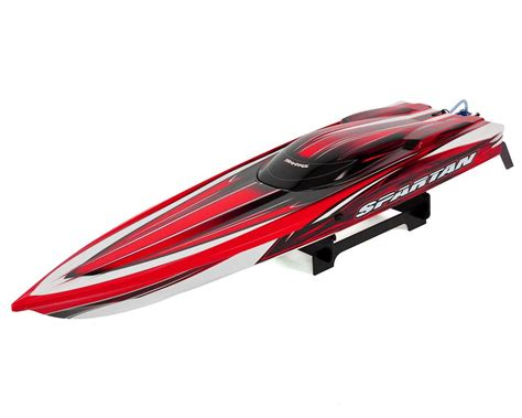 traxxas rc boat racing traxxas spartan high performance race boat rtr w tqi 2