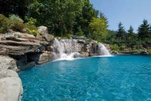 pools with waterfalls swimming pool designs with waterfalls modern home design and decor