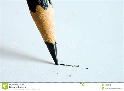 pencil writing on paper pencil writing on paper stock photo image of education