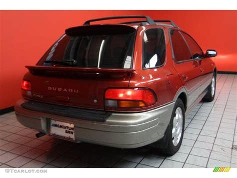 2000 subaru impreza outback 2000 sedona pearl subaru impreza outback sport wagon