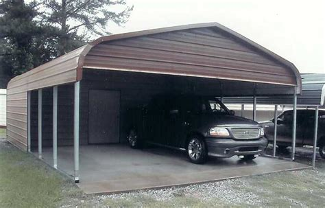 Carports And Storage Buildings Combo Carport And Storage Classic Style