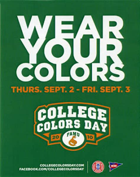 college colors rattlerwire famu unifies constituents during college