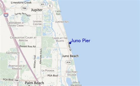 map of juno florida juno pier surf forecast and surf reports florida south