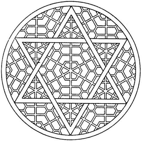 Hanukkah Mandala Coloring Pages | 8 of the best most artful hanukkah coloring pages