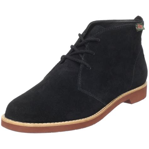 g h bass co bass womens byron ankle boot in black lyst