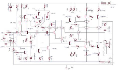 Power Bell 500 Watt 2sc5200 2sa1943 500watt lifier circuit diagram