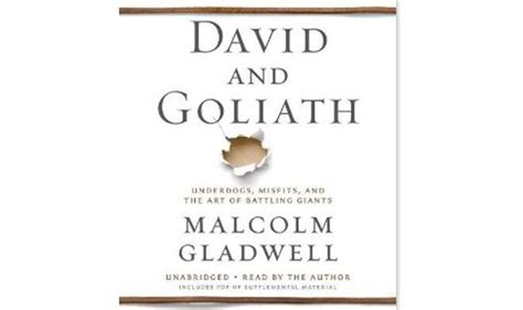 david and goliath underdogs 0241959594 david goliath by malcolm gladwell review books entertainment express co uk