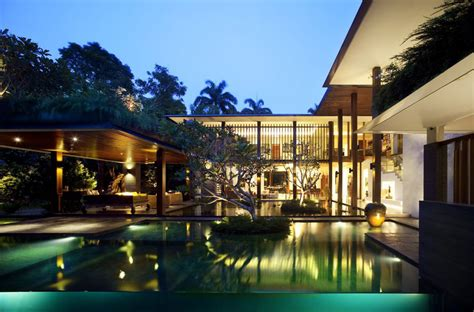 guz architects private lush paradise by guz architects idesignarch