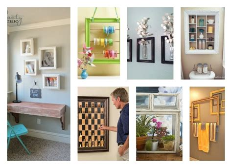 how to reuse old picture frames into home decor 40 creative reuse old picture frames into home decor ideas