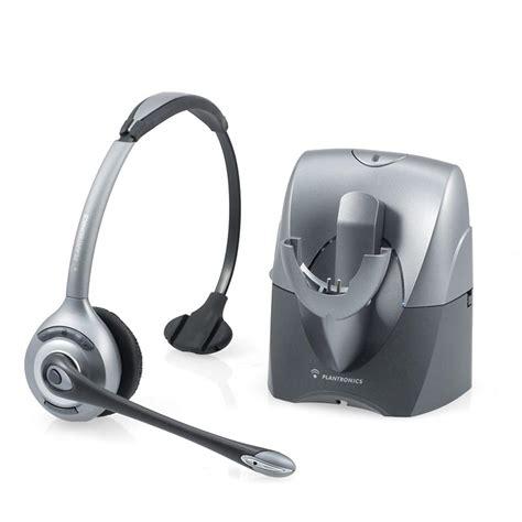Headset Wireless Plantronics Cs351n Supraplus Wireless Headset Basic Bundle