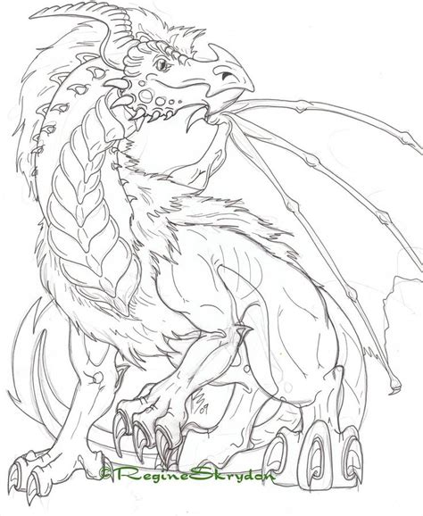 realistic dragon coloring pages for adults gianfreda 18296