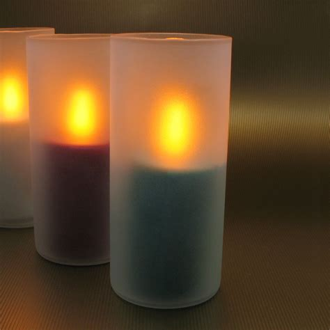 flame proof led candle flickers like a real candle
