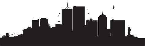 Cityscape Vector Outline by 301 Moved Permanently
