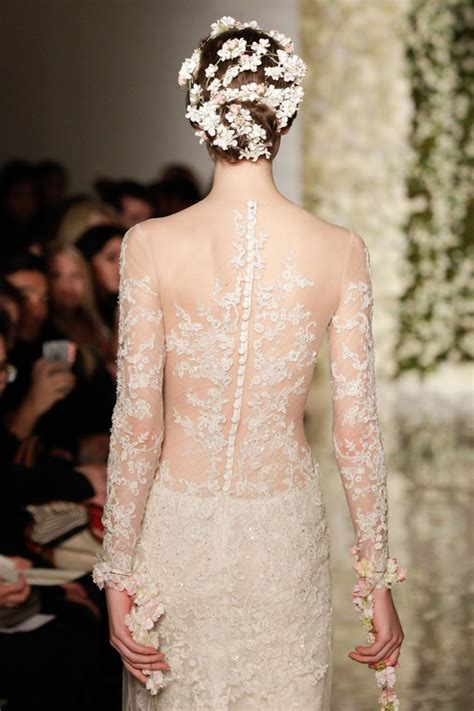 tattoo wedding dress from catwalk to aisle 10 key wedding dress trends for 2015