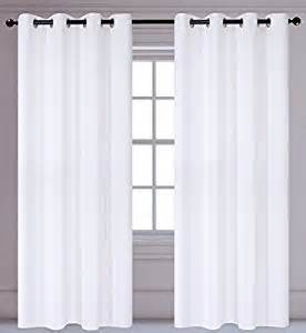 White Darkening Curtains Luxura 2 Insulated Room Darkening