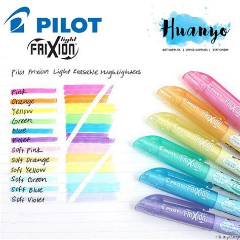 Pilot Frixion Light Color Erasable Highlighter 3