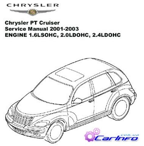 car engine manuals 2003 chrysler pt cruiser user handbook 28 06 pt cruiser repair manual 36228 2006 chrysler pt cruiser factory service manual 4