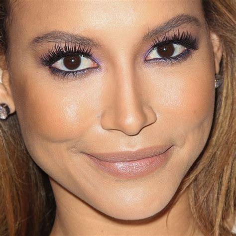 Eyeliner Rivera naya rivera makeup purple eyeshadow lipstick