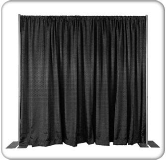 Trade Show Drapes And Pipes Pipe And Drape Exhibit Display Booths Pipe Amp Drape Kits
