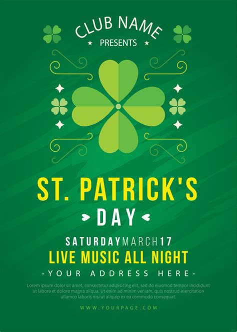 10 St Patricks Day Invitation Templates Psd Ai Free Premium Templates S Day Invitation Template