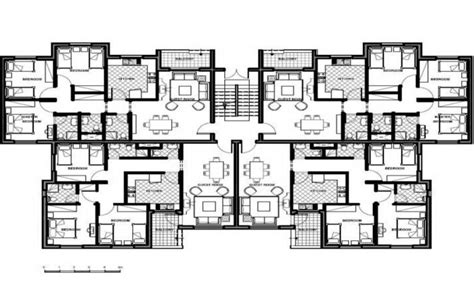 emejing 4 unit apartment building plans gallery home four unit apartment building plans best home design 2018