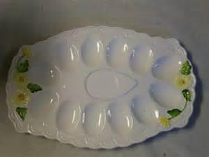 vintage deviled egg plate vintage lefton egg plate great for deviled eggs in rustic