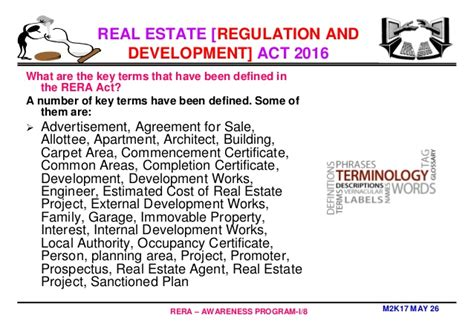 Mba In Real Estate In India by Mba In Real Estate Management Why Rera By Professor Dr C