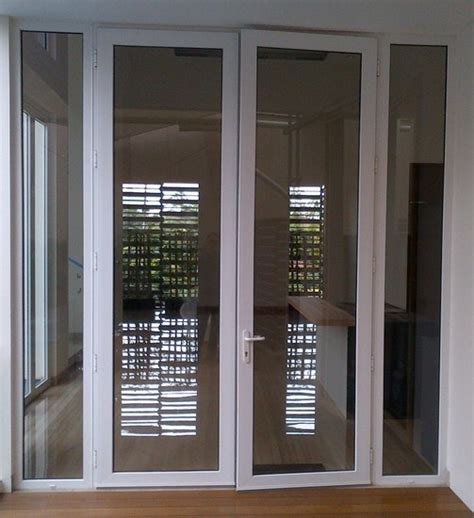Pintu Kusen Almunium model desain pintu aluminium rumah terbaru 2016 desain cantik