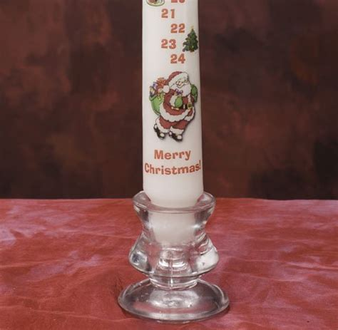 celebration candles countdown christmas advent candle with