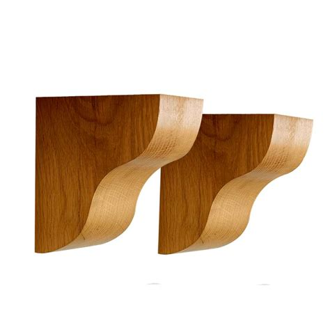 Oak Corbels And Brackets oak corbel shelf brackets solid beam