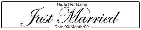Bedroom Set For Kids by Just Married Italic Wedding Number Plate