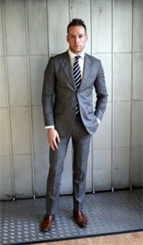 grey suits and brown shoes my affordable luxury