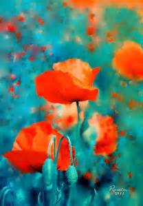poppy colors 25 best ideas about poppies painting on