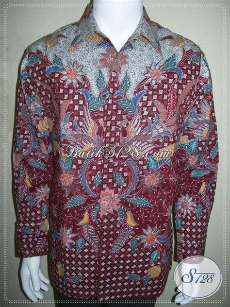 Baju Batik Lelaki Merah baju lengan panjang lelaki murah images
