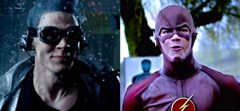 movie quicksilver vs flash who s faster flash or quicksilver wired