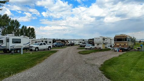 campground review countryside rv park dillon mt