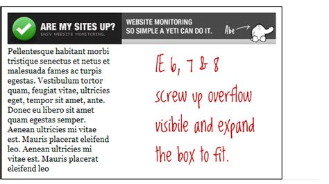 css layout overflow the css overflow property css tricks